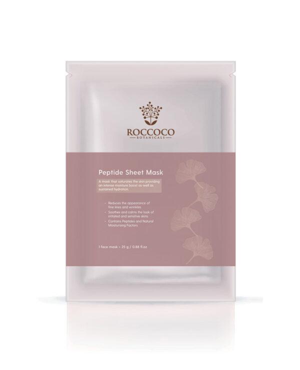 Roccoco Peptide Sheet Mask