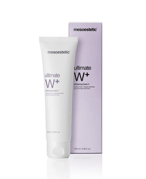 Mesoestetic ultimate W+ whitening foam 100ml