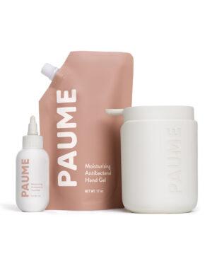 Paume Hand Sanitiser Gel essentials kit