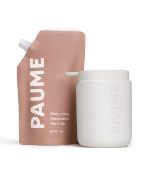 Paume Hand Sanitiser Gel in home kit